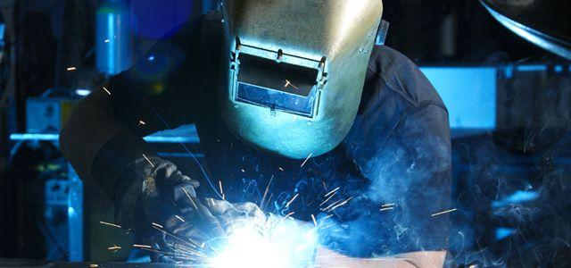 welding production runs